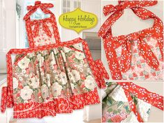 Happy Holidays with FreeSpirit & Rowan: Country Fresh Double Flounce Apron | Sew4Home