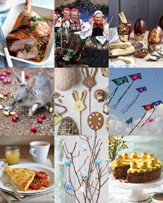 Long lunches, lamb and Easter eggs are popular Easter traditions in the UK, but what will the rest of the world be getting up to over the holiday? Easter Recipes, Easter Ideas, Simnel Cake, Maundy Thursday, Hot Cross Buns, Delicious Magazine, Easter Traditions, Last Supper, Holy Week