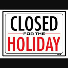 closet closed 121615 to 123015 see you when