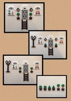 Hama Beads Design, Diy Perler Beads, Perler Bead Art, Pearler Beads, Pony Bead Patterns, Pearler Bead Patterns, Perler Patterns, Beading Patterns, Hama Beads Christmas