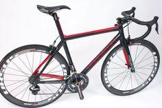 hand made custom carbon bike