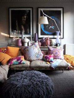 DIY Boho Chic Living Room Decor Inspirations on A Budget - Page 19 of 99 Chic Living Room, Home And Living, Living Spaces, Living Rooms, Interior Design Inspiration, Room Inspiration, Home And Deco, My New Room, Home Fashion