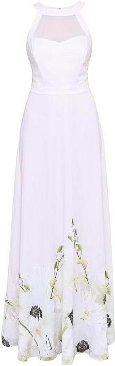 Pin for Later: 28 Easy, Breezy Maxi Dresses That'll See You Through Summer  Ted Baker Adanya Pearly Petals Maxi Dress (£229)