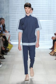 Spring-Summer 2014 Show (Photo credit: Lacoste/Yannis Vlamos) Summer 2014, Spring Summer, Lacoste, Photo Credit, Normcore, Collection, Style, Fashion, Moda