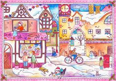 online advent calendar for kids - hanging out till dec 1st