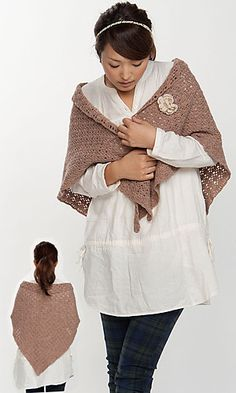 Triangle Shawl by Pierrot.  Next on my to do list