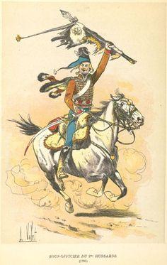 2e Hussard, France, 1794-1795
