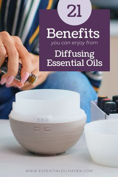 Essential oil diffusers are really simple to use and can be for everyone. All you need to do is plug in your unit, fill it with water, and add your essential oils. Check out these 21 essential oil diffuser benefits for you and your home. #essentialoils #diffusing #diffuserbenefits #essentialoilhaven Making Essential Oils, Essential Oils For Sleep, Essential Oil Uses, Essential Oil Diffuser Benefits, Diffusers, Young Living, Fill, Stress, Healthy Living