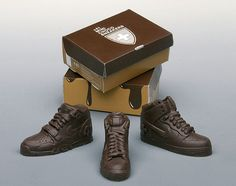 chocolate sneakers ( take a look what they do in choc)