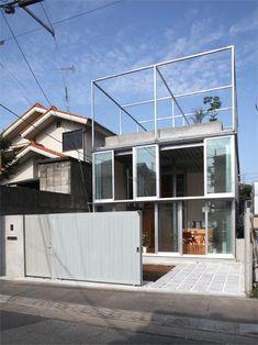 Steel House, Kunitachi/ Fuminori Nousaku Architects