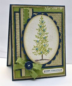Stampin' Anne: I'm Dreaming of a Green Christmas
