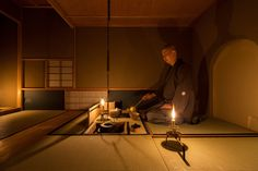 POINTによる、東京・新宿区の小間の立礼茶室「夜咄Sahan」 | architecturephoto.net