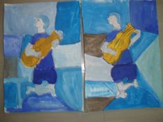 Kindergarten Art Class: ΠΑΜΠΛΟ ΠΙΚΑΣΟ (συνέχεια)