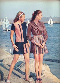 Dreaming in Dacron: A Seventeen Magazine from 1968 retro vintage dresses