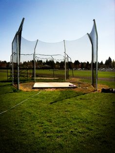 Discus rink! My home away from home.