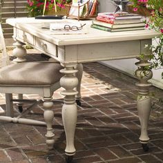 I pinned this Paula Deen Recipe Writing Desk in Linen from the Spring Cleaning Event event at Joss & Main!