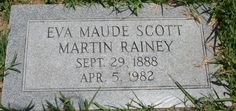 Eva Maude <i>Scott</i> Rainey