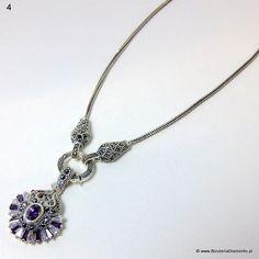 #Naszyjnik z markazytami.  http://www.bizuteriadiamento.pl #biżuteria #jewelry