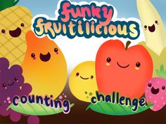 Funky Fruitilicious ($0.00) is a fun and intuitive educational app for pre-school kids, aimed to guide them in the learning process of gaining their first knowledge in the basics of numbers and the concept of counting. The app provides a fun learning environment and engages children using visual learning techniques. [well-rated]