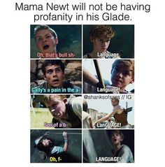 Lol who started this mama newt crap? Lol