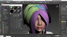 Ornatrix 3dsmax: Baking hair texture onto hair strips  **** >>>> ****  follow my boards !! https://www.pinterest.com/jimmysancr/  ****<<<<<****