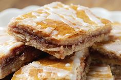 Graham-Flour Jam Pastry Squares