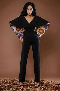 afrikanischer stil Fabulous ankara jumpsuits are jumpsuits that are well designed and very well made as well. It isn't enough that the designer had a creative idea African Print Jumpsuit, Ankara Jumpsuit, African Print Dresses, Ankara Dress, African Dress, African Fashion Ankara, African Inspired Fashion, African Print Fashion, Africa Fashion