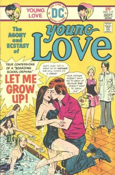 Young Love romance comic cover