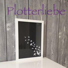 grinsestern, silhouette, plotter, freebie