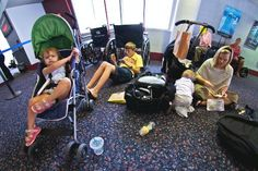 10 Ways to Survive Flying With Kids... put this away for the future!