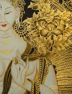 White Tara. Could not trace the artist