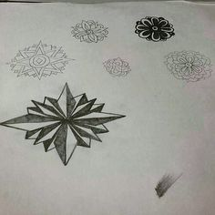Wow!  I found this old sketch pad going through my old art supplies looking for a compass and protractor at my late mother and dad's house a few days ago.  Needless to say that I didn't  find the compass or protractor but brought this home to doodle on.  I just opened it to find these.....all hand drawn over 20 years ago in about 8th or 9th grade!  Back then all I knew was my doodles were not like everyone else all day had no clue they were anything worth pursuing!  Before Internet and only…