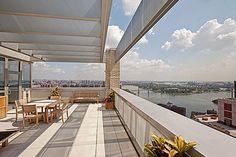 Sky high terrace. Manhattan, NY | Douglas Elliman elliman.com