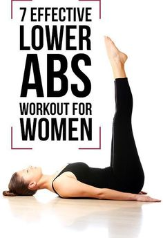 7 Effective Lower Abs Workout For Women #abs #workout