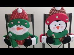 Christmas Ornaments, Holiday Decor, Youtube, Home Decor, Slipcovers For Chairs, Christmas Crafts, Christmas Deco, Feltro, Dolls