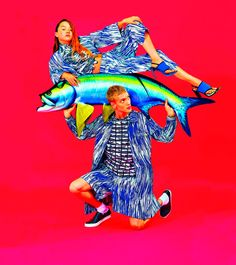 Kenzo teamed up once again with TOILETPAPER (Maurizio Cattelan, Pierpaolo Ferrari, Micol Talso)for its Spring/Summer 2014 campaign, featuring Devon Aoki and Paul Boche. See the Spring/Summer 2014 collection here! Devon Aoki, Spring 2014, Summer 2014, Spring Summer, Fashion Advertising, Advertising Campaign, Creative Advertising, Advertising Ideas, Kate Moss