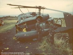 A downed UH-60 at Calivingy.