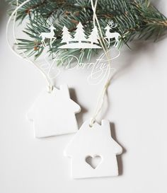 Domeček - vánoční ozdoba / Zboží prodejce St. Dorothy | Fler.cz