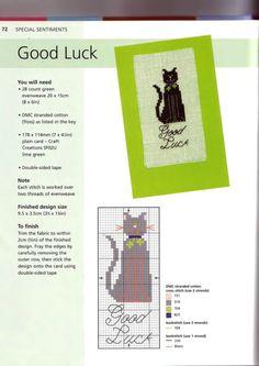 Good Luck Card ... Gallery.ru / Фото #10 - Открытки - Mosca