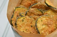 A Healthy Jalapeno: Fresh Zucchini Oven Chips