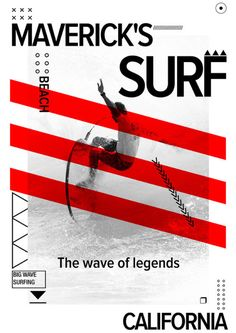Creative Graphic, Design, Misc, and Surf image ideas & inspiration on Designspiration Air Festival, Surfing, Waves, Graphic Design, Inspiration, Image, Cali, Biblical Inspiration, Surf