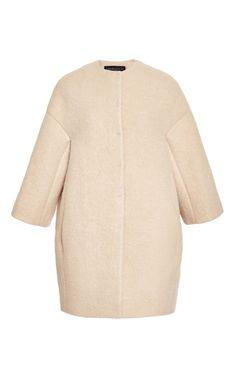 Felted Cocoon Coat by Giambattista Valli - Moda Operandi
