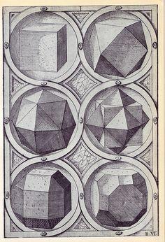 Terra - Perspectiva Corporum Regularium - Wenzel Jamnitzer 1568 by peacay, via Flickr