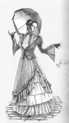 The lovely, and deadly Sophia del Morte. One of the many Nefarious Adversaries you can play in the #steampunk #roleplaying game for the Ministry of Peculiar Occurrences. http://www.drivethrurpg.com/product/181653/Nefarious-Adversaries