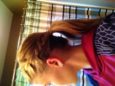 For all sports but especially volleyball and even with a cute bow! My hair :)