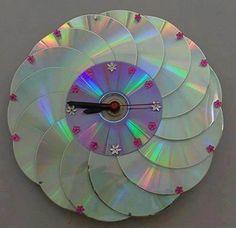 f077bdf2b6c Artesanato com CD  Inspire-se com Vários Modelos Criativos