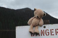 ART PRINT MINI | Be Bear Aware by Atmosphr