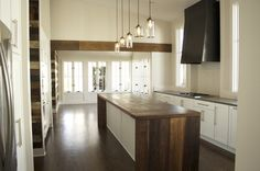 Reclaimed Wood contemporary kitchen