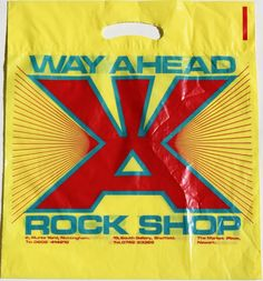 Way Ahead Rock Shop - Nottingham Vinyl Store, Quality T Shirts, Nottingham, Vintage Signs, Punk, Gallery, Creative, Classic, Memories
