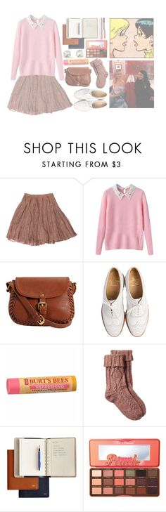 """""""i do everything for everyone, everything to be perfect, the perfect daughter, the perfect sister, the perfect student"""" by secrets-kisses-lies-xo on Polyvore featuring Rodarte, Market, Crockett & Jones, Burt's Bees, Fat Face, Kate Spade, Mark & Graham, Too Faced Cosmetics, GET LOST and riverdale"""